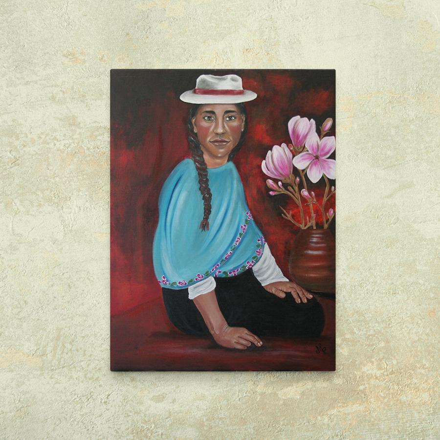 Mamakay - Otavalo Frau